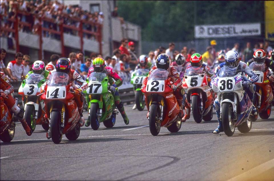 1993 ワールドスーパーバイク スパフランコルシャン ベルギー